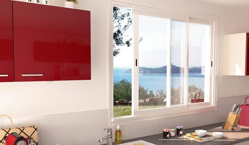 Fenêtre sur mesure pour cuisine Bordeaux