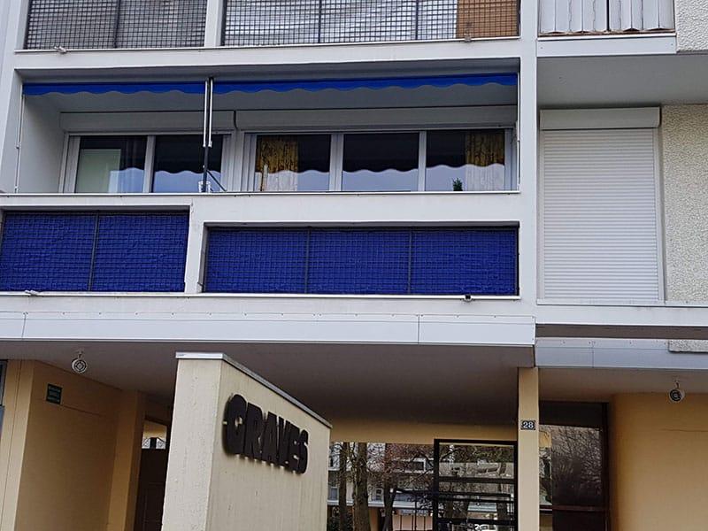 Store bannette sur balcon Mérignac 33